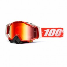 Motocross Brille Fire Red Racecraft